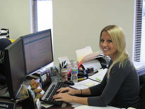 Christina Overton, Client Services Representative/Marketing Manager